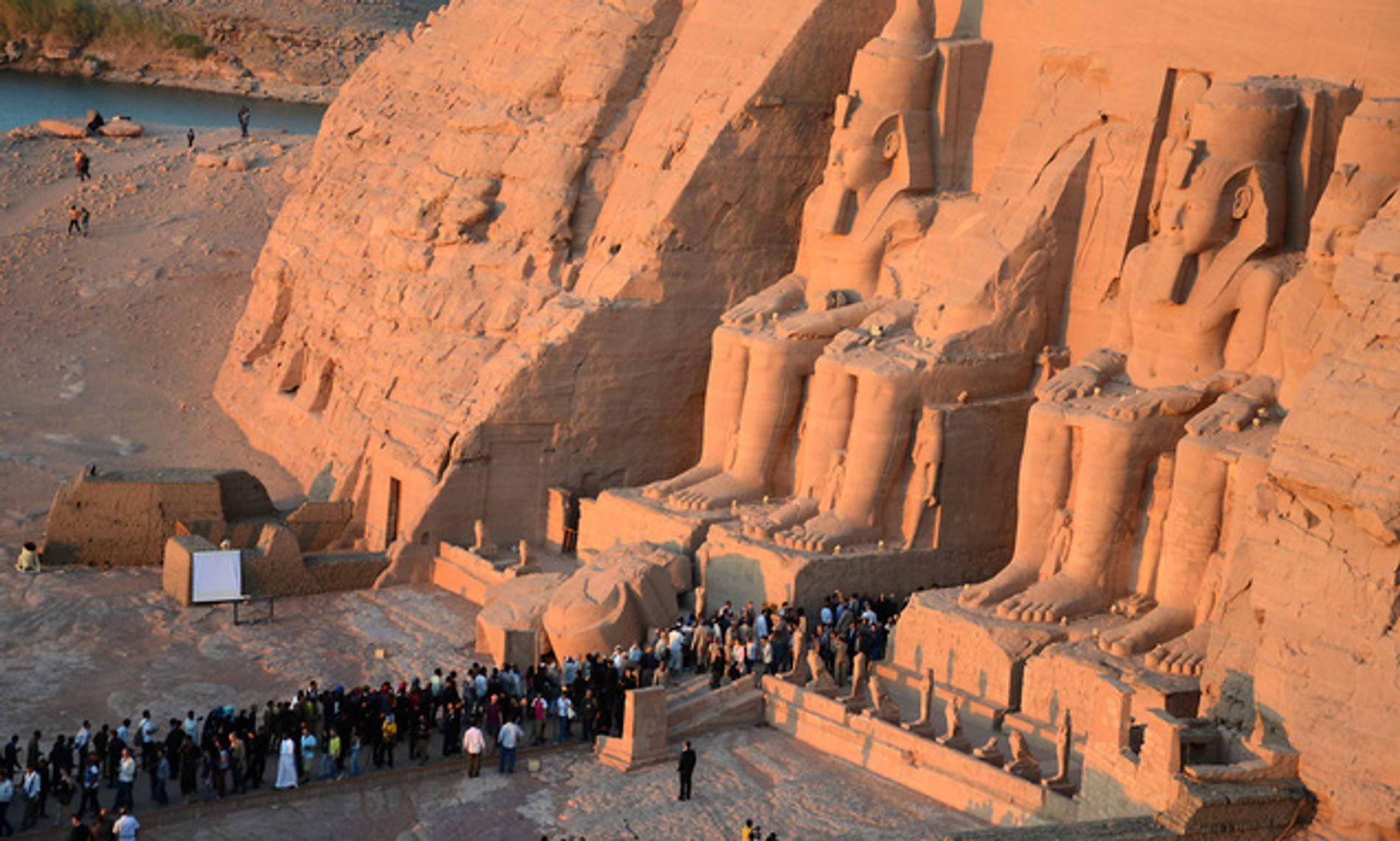one of ramses ii facts happens as the sun reaches the four statues inside Abu Simbel, let's discover the secrets of king Ramses ii and king Ramses iii.