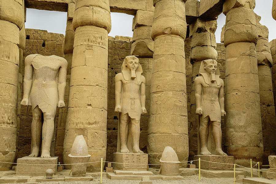 you will have nice chance to see the sunshine over some of the ancient Egyptian temples, let's discover luxor temple and karnak temple map.